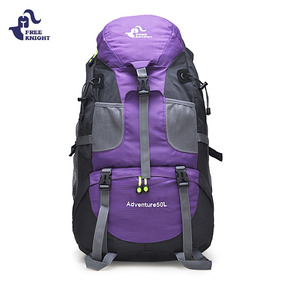 Mochila Nylon Impermeable 50l Para Escalada Excursionismo