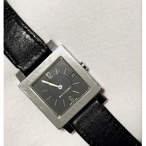 2ab533c562e Relogio Bvlgari Pulseira De Couro - Relógios no Mercado Livre Brasil