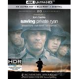Blu Ray 4k Ultra Hd O Resgate Do Soldado Ryan - Dub/leg, Luv