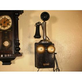 Antigo Telefone De Parede A Manivela..dec De 30.