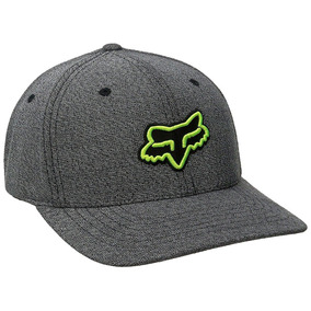 Gorra Fox Bountiful Flexfit Hat Gris Negro 16975-243