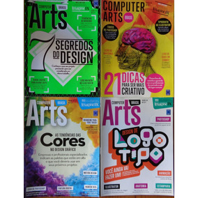 Revista Computer Arts Brasil Lote Com 11 Edições Edit Europa