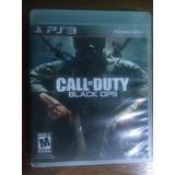 Call Of Duty: Black Ops Ps3 Usado