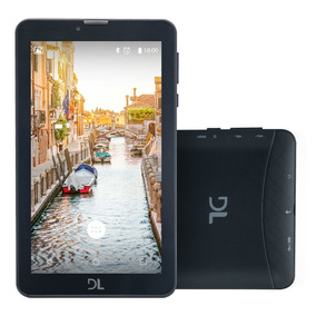 Tablet Dl 7 3g ,2chips Android 7.0,8gb 1r Bluet Frete Grátis