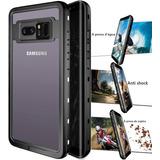 Capa Case Galaxy Note 8 Prova De Água Choque Anti Shock Top