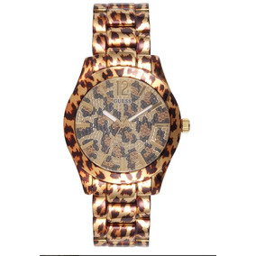 Relógio Guess Feminino Safari Dourado Preto 92538lpgsda1 5ff15d220c