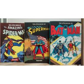 Coleção Superman, Homem Aranha, Batman - 3 Livros Quadrinhos