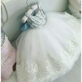 Vestido Beba Nena Fiesta Princesa Talles 6/9 M A 4 Años