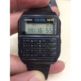 Relógio Calcudora Casio 3208 - Resistente A Água