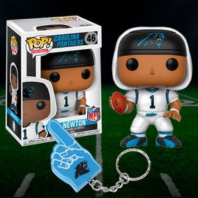 Funko Pop Nfl Cam Newton + Chaveiro Carolina Panthers