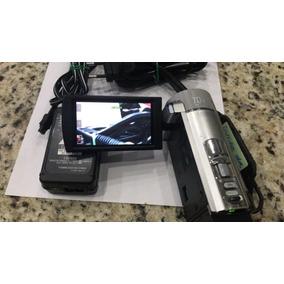Câmera Filmadora Sony Dcr-sx22 - Seme Nova + Card De 4g