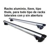 Racks Barra De Techo, En Aluminio, Tipo Thule, Con Llave