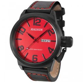 ab18d428630 Relogio Vermelho Masculino Magnum - Relógios De Pulso no Mercado ...