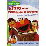 Elmo Y Los Piratas De La Lectura Plaza Sesamo Pelicula Dvd