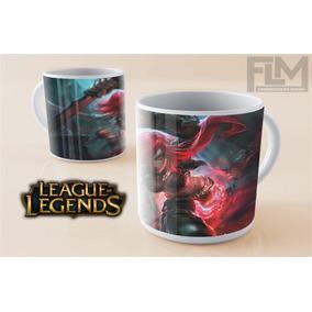 Caneca League Of Legends (todos Os Personagens)