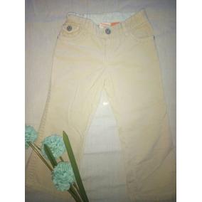 I-p-08 Lindo Pantalon De Pana Para Tu Nena Talla 4 Años