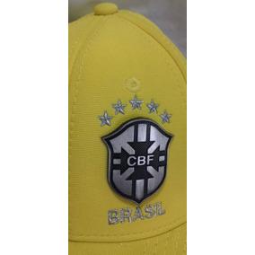 Bone Aba Reta Cbf - Bonés para Masculino no Mercado Livre Brasil 42709a19460