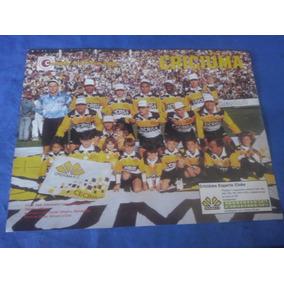 Poster Criciúma Campeão Catarinense 1995