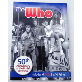 Pack The Who - 50th Anniversary - Inclui 6 Mini-posters