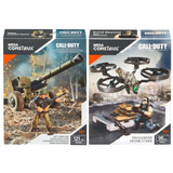 Call Of Duty Cañón Anti Tanques Y Dron Mega Construx