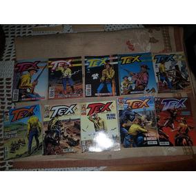 Lote Com 10 Revistas Tex Coleção