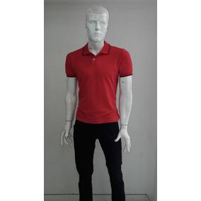 Playera Marca Polo Tipo Polo Color Rojo Op4 Gratis Original - Ropa ... df420f14d87a6