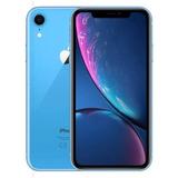 iPhone Xr Blue 128gb Anatel -vitrine - Garantia Apple