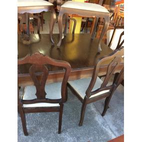 Mesa Jantar Chipandelle 6 Cadeiras