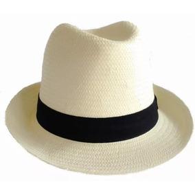 d4986920725ca Chapeu Panama Masculino Aba Curta - Chapéus no Mercado Livre Brasil