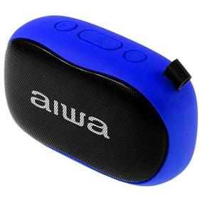 Caixa De Som Aiwa S21 Portátil Bluetooth Mic - Azul Original