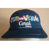 Boné Promocional Coral Dulux Raridade A Cor Do Verão Show! 564d8d4e907