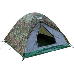 Barraca Acampamento Camping Lazer Nautika Selvas 3/4 Pessoas
