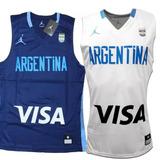 Camiseta Basquet Argentina, Original Jordán Mod 2018 !