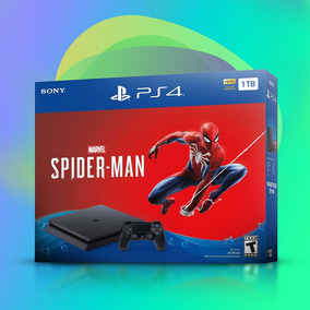 Play Station 4 Ps4 1tb Incluye 1 Juego Spiderman