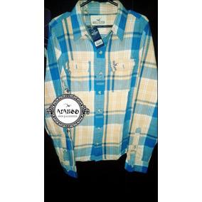 8d1db32071 Araneo - Camisa Hollister Original Naranja Talla L