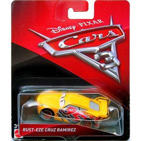 Disney Cars 3 Rust-eze Cruz Ramirez Mattel Mcquenn Carros 3