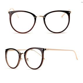 1e691db6a3d9d Armação Para Grau Oculos Feminino Vintage Moda Retrô Barato · 4 cores