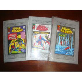Lote Biblioteca Histórica Homem-aranha Vols. 2, 3 E 4 Novas!