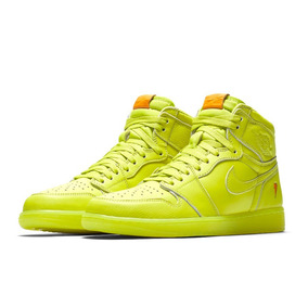 Nike Air Jordan I 1 High Gatorade Lemon Lime Cyber 28mx 10us