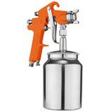 Pistola Pintura 1000ml Sucção 1/4 Compressor Bel Fix 263400
