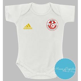 467abf9f55 Body Bebê Futebol Camisa Tunísia 2018