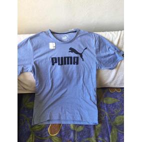 Playera Puma Azul Cielo Mediana