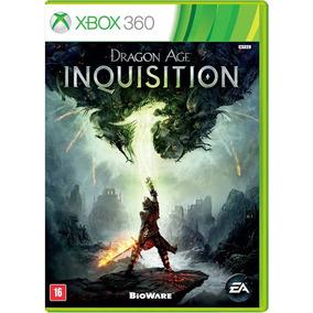 Jogo P/x-box 360 -dragon Age Inquisition- Usado Mídia Física