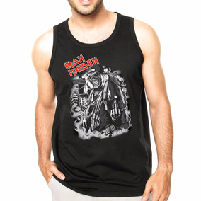 Camisa Camiseta Cavada Regata Iron Maiden Banda Rock Old bfcf189cc74
