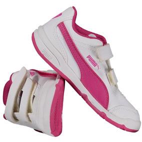 Tênis Puma Stepfleex Fs Infantil Feminino Branco
