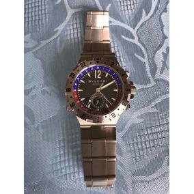 b17f228edd9 Relógio Bvlgari Diagono Gmt Masculino Outras Marcas - Relógios De ...