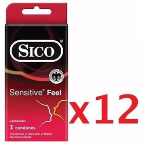 Condones Sico Sensitive Paquete 36 Condones Igt