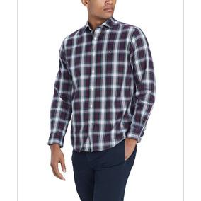 cdf51aa0e6b81 Camisa Tommy Hilfiger Hombre Talla M - Ropa y Accesorios en Mercado ...