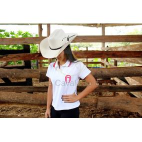 Camisa Polo Feminina Branca - Pólos Manga Curta Femininas em Minas ... 43080b9f5d7