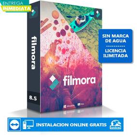 Wondershare Filmora 8.5.2 + 1500 Effectos!!sin Marca De Agua